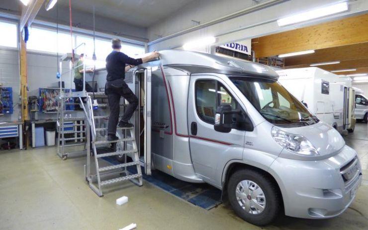 Caravan Erälaukolta saat myös asuntoautojen ja asuntovaunujen huoltopalvelut